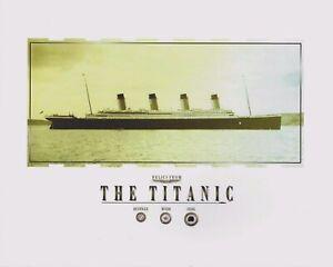 TITANIC relics, artifacts COAL, WOOD, RUSTICLE pieces, specks, RMS TITANIC 8x10