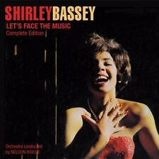 Shirley Bassey - Let's Face the Music + Born to Sing the Blues [New CD] Spain -