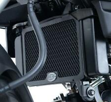 R&G BLACK RADIATOR GUARD for YAMAHA MT-125, 2014 to 2017