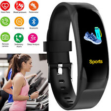 Waterproof Bluetooth Smartwatch Bracelet Phone Mate Fitness Activity Tracker