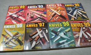 COLLECTION OF 8 KNIVES ANNUAL PUBLICATIONS