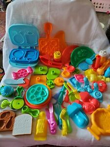 Playdough & Moon Dough Assorted Molds Lot 60 pieces ☆ Preowned