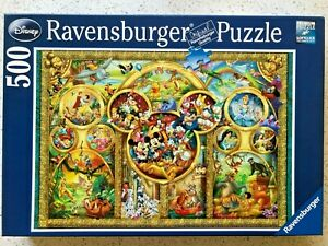 "Ravensburger 500-Piece Jigsaw Puzzle - ""Disney Family"""