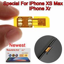R SIM GPP LTE 4G Sim Chip Unlock Turbo Card for iPhone XS Max Newest IOS 12 LET