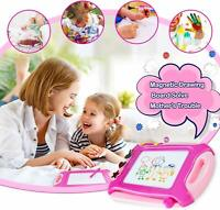 Magnetic Drawing Board Colorful Large Writing Board Erasable Pen Doodle Toys Kid