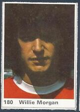 MARSHALL CAVENDISH TOP TEAMS 1971- #180-MANCHESTER UNITED-WILLIE MORGAN