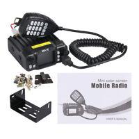 QYT KT-7900D Quad Band Quad-Standby 5Tone VHF 25W Car/Truck Ham Mobile Radio Hot