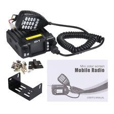 QYT KT-7900D Quad Band Quad-Standby 5Tone VHF 25W Car/Truck Ham Mobile Radio AT