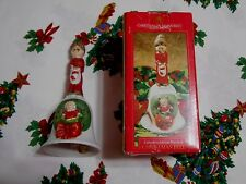 Home Trends Christmas on Mainstreet Collector's Edition Porcelain Christmas Bell