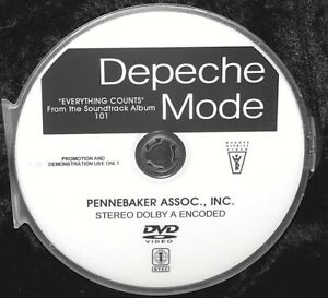 DEPECHE MODE Everything Counts (Live 101) Promotional Music Video DVD