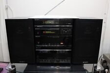 SONY FH-404 HIFI STEREO CASSETTE GHETTOBLASTER BOOMBOX EQUALIZER RADIO JAPAN TOP