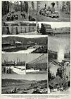 Lumber Industry in California, Start to Finish Forestry, 1880s Antique Print