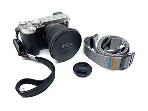 Sony Alpha a7C Digital Camera + 28-60 Lens + PolarPro VND Mist 2-5 Stop Filter