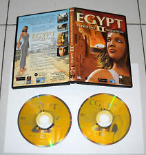Gioco Pc Cd EGYPT II 2 La profezia di Heliopolis OTTIMO 2003