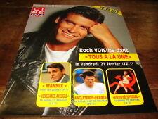 ROCH VOISINE - Publicité de magazine PROG TV !!!!!!!!!!!!!!!!