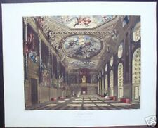 "W. H. Pyne: ""St. Georges Hall, Windsor Castle"" 1816"