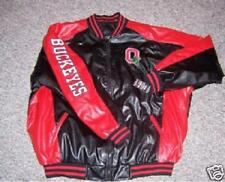 Ohio State Vinyl Letterman Jacket XL Steve Barry's nos