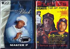 Journeys in Black: Master P (DVD, 2002) & Chuck D's Hip Hop Hall of Fame (DVD)