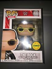 """Funko Pop Wwe, The Rock,#46, Chase"""", Brand New, Never opened,w/ protector!"""