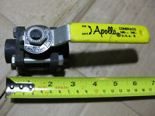 "Apollo Conbraco 1/2"" NPT 83-100-01 Carbon Steel Full Port Ball Valve 1000 PSI"