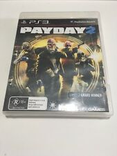 PAYDAY 2 Playstation 3 PS3 GAME PAL  No Booklet Free Post
