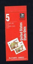Canada 1991 5 x 48c McIntosh Apple 1363b Open T1 tab inscripted Booklet BK142b