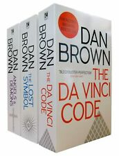 Dan Brown Robert Langdon 3 Books Collection- Angels and Demons, Lost Symbol New