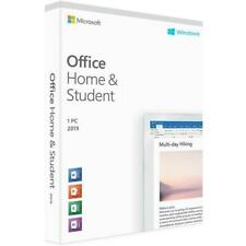 Microsoft Office 2019 Home and Student Medialess - Windows PC - Retail - NEW (