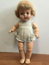 Antique Vintage Composition Doll 1920's   Original Outfit