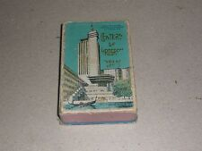 Century in Progress 1933 Vintage Very Rare Playing Cards Chicago World's Fair