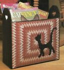 FANCIFUL FELINES CAT BASKET & TISSUE COVER PLASTIC CANVAS PATTERN INSTRUCTIONS