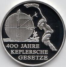 10 Euro Gedenkmünze 400 J. Keplersche Gesetze 2009 Polierte Platte Silber 925/-