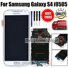 For Samsung Galaxy S4 i9505 LCD Display Digitizer & Touch Screen & Frame White