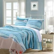 Greenland Home Fashions Maui Quilt Set Full/Queen Machine Washable (3-Piece)
