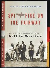 WW2 RAF SPITFIRE on the FAIRWAY + unexpected HAZARDS of GOLF in WARTIME EC HCDJ