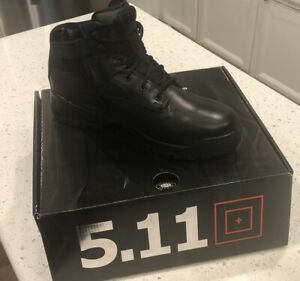 """NIB 5.11 6"""" Tactical Military & Police Boot 12018 ATAC Side Zip Black Size 14R"""