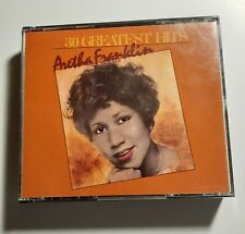 30 Greatest Hits by Aretha Franklin (CD, Aug-1985, 2 Discs, Atlantic