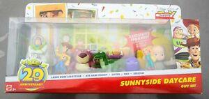 Disney Pixar Toy Story Buddies Sunnyside Daycare Gift Set Figures Woody Buzz 7pc