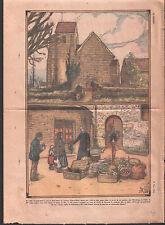 ABBÉ BOULARD SAUVETAGE Mauchamps L'église Saint-Jean-Baptiste  ILLUSTRATION 1935