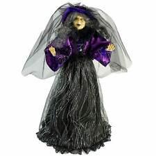 "24"" Gerson Company Standing Purple Spider Witch Halloween Figurine Doll Decor"