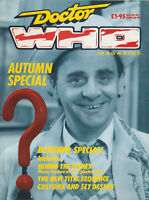 RARE: Doctor Who Magazine Autumn Special 1987. Part sale for charity do!