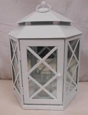 PartyLite Lattice Mirrored Lantern in Original Box P91835 h