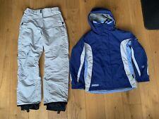 Columbia Women's snowboarding / ski jacket and salopettes