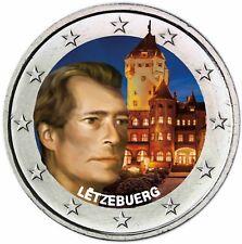 Luxemburg 2 Euro 2008 Chateau de Berg bankfrisch in Farbe