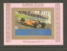 AJMAN Formula 1 Racing CARS McLAREN M10 DELUXE SHEET