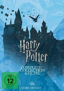 Harry Potter - Complete Collection (Teil 1+2+3+4+5+6+7.1+7.2) # 8-DVD-BOX-NEU