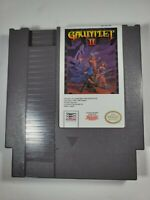 Gauntlet II 2 (Nintendo Entertainment System, 1990) TESTED - CLEAN