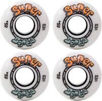 ENUFF Skateboard Rollen Wheel SUPER SOFTIE 4er Rollenset white Skateboard Rollen