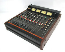 Vintage Teac 3 Tascam Series 8 Input 4 Channel Audio Mixer Mixing Console