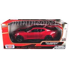 MOTORMAX 79351 2017 CHEVROLET CAMARO ZL1 1/24 DIECAST MODEL CAR BURGUNDY